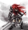 Erza Scarlet - fairy-tail fan art