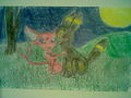 Espeon and Umbreon - pokemon fan art