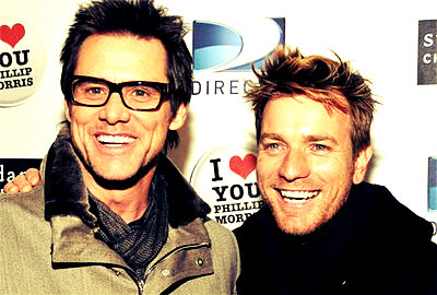 Ewan and Jim Carrey