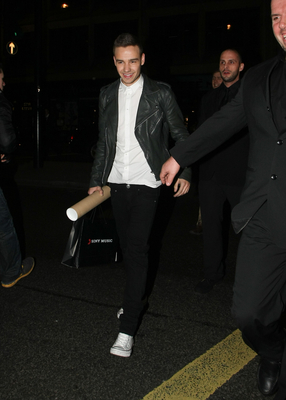 FEB 20TH - LIAM LEAVING THE ARTS CLUB