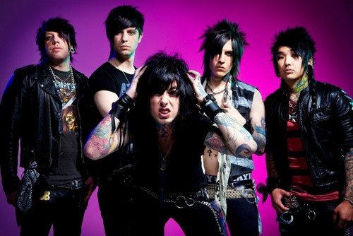 Falling In Reverse Wallpaper Possibly Containing A Bearskin Called