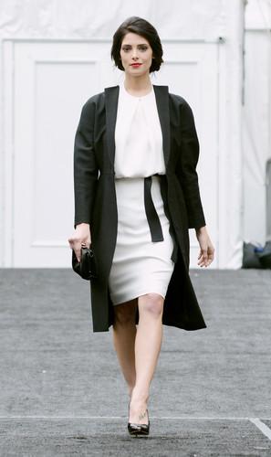 February 11 - Heading to the Kaufman Franco Fall 2013 ipakita - New York Fashion Week