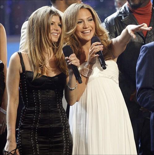 Fergie & Jennifer Lopez 2007