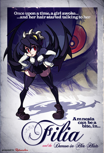 Filia and the Demon in her hair