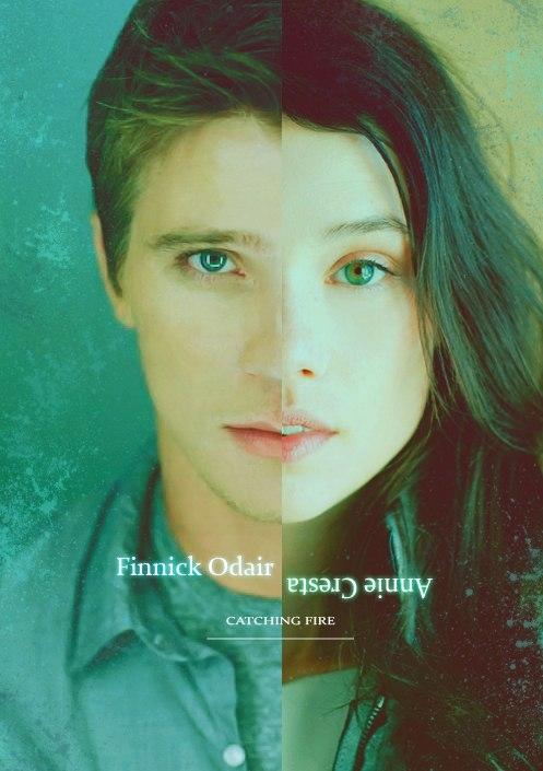 Finnick & Annie - Finnick & Annie Fan Art (33685006) - Fanpop