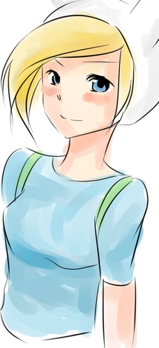 Adventure Time With Finn and Jake wolpeyper possibly with anime entitled Fionna