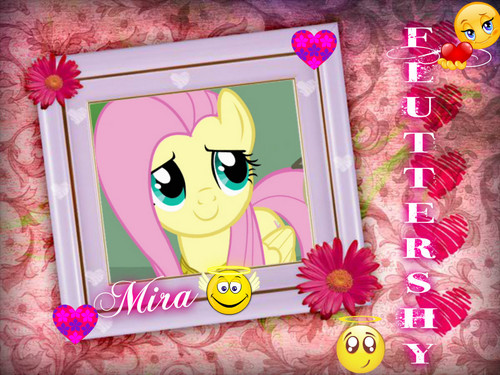 Fluttershy my little пони
