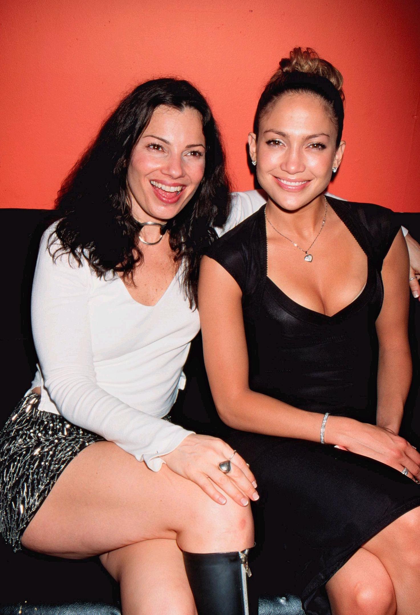 Fran Drescher & Jennifer Lopez 1999
