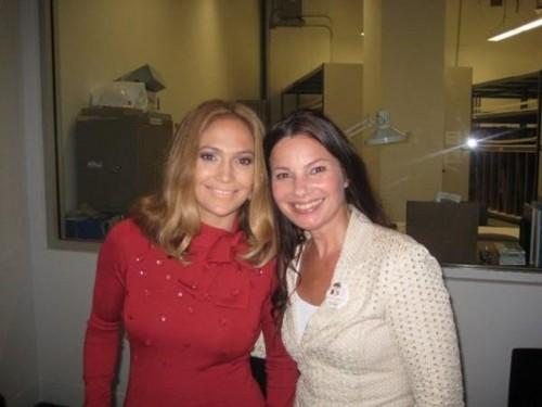 Fran Drescher & Jennifer Lopez 2008