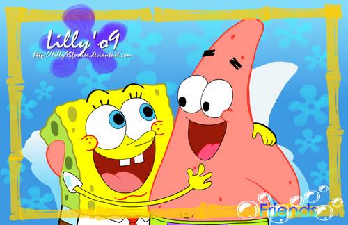 Patrick star in school