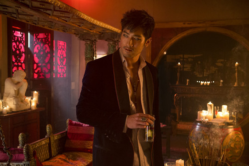 "Full promotional foto for ""The Mortal Instruments: City of Bones"" movie! [Magnus Bane]"
