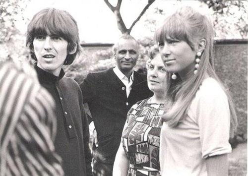 The Beatles Images George Harrison Pattie Boyd Wallpaper And Background Photos