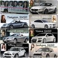 Girls' Generation Members Cars