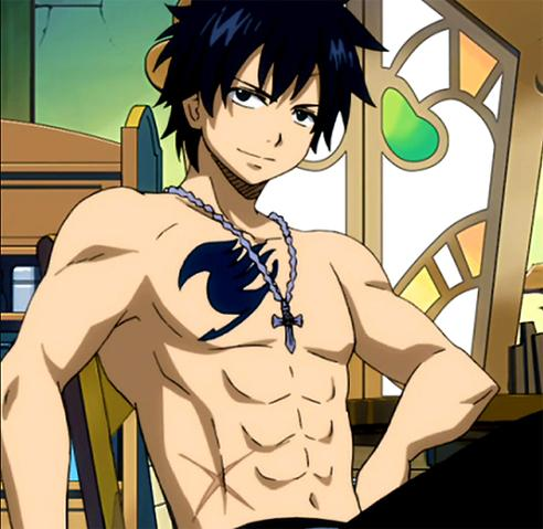 Gray Fullbuster wallpaper containing anime called Gray