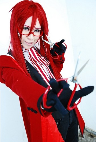 Kuroshitsuji wallpaper called Grell Cosplay