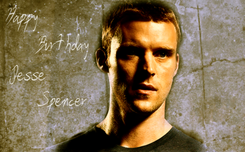 Happy Birthday Jesse Spencer!