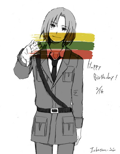 Happy Birthday Lithuania!~