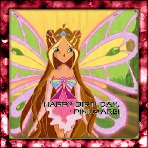 Happy Birthday, pinkmare!