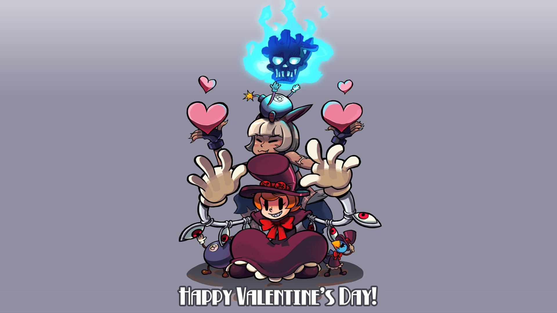 Happy Valentine S Day Wallpaper Skullgirls Wallpaper 33626274