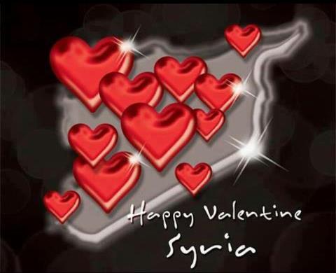 Happy Valentine's araw to Syria