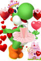 Happy valentine's day from Yoshi - yoshi fan art