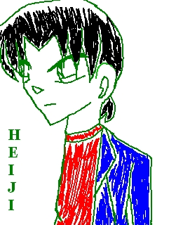 Hattori Heiji (Mix Color Ballpen) (by: Yagami003)