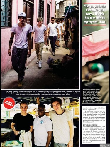 Hello Magazine Exclusive: 1D in Africa