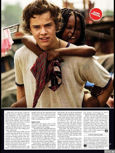 Hello Magazine Exclusive: 1D in Africa