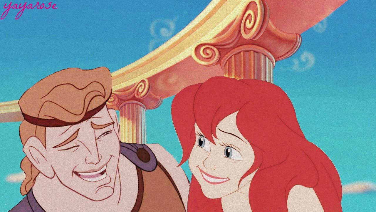 Hercules and Ariel