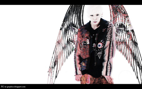 Himchan wallpaper probably with a sign entitled Himchan