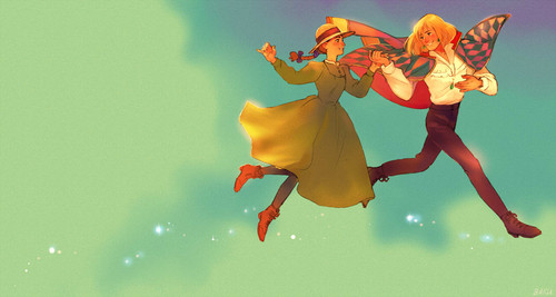 Howl's Moving Castle images Howl and Sophie HD wallpaper ...