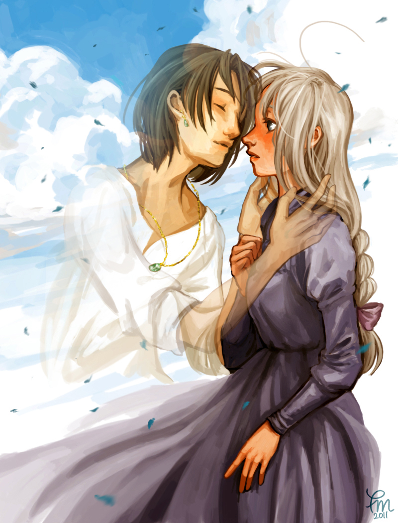 Howls Moving Castle Howl And Sophie Pictures