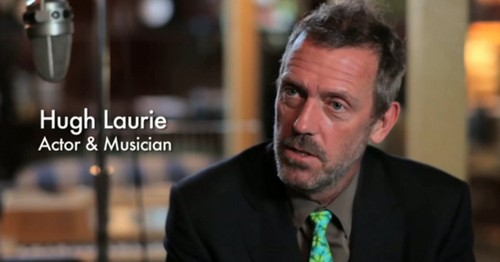 "Hugh Laurie is the part of documentary ""The Tragic Genius of James Booker"