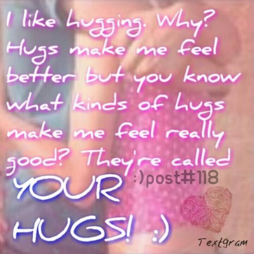I প্রণয় hugs <3