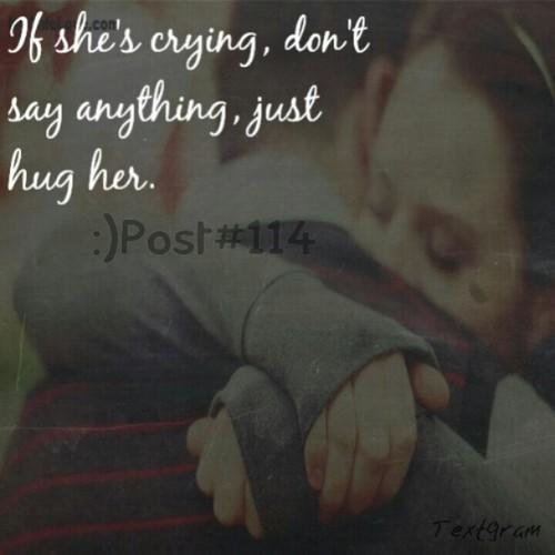 I love hugs <3