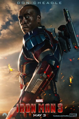 Iron Man 3 - Don Cheadle Poster