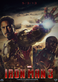 Iron Man 3 (Fan Made) Poster - iron-man-3 photo