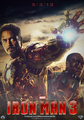 Iron Man 3 FanMade Poster - iron-man fan art