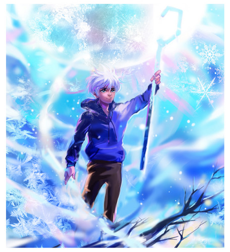 Childhood Animated Movie 超能英雄 壁纸 titled Jack Frost