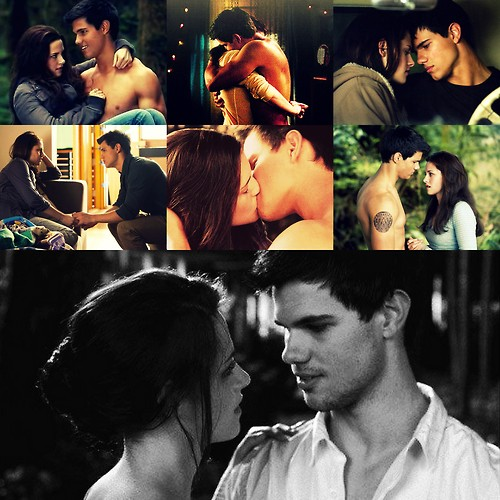Jacob Black wallpaper called Jake and Bella - romantic moments