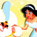 Jasmine and Sultan - disney-females icon
