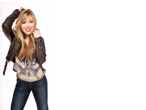 Jennette McCurdy Hintergrund with bellbottom trousers, a jean, and long trousers titled Jennette McCurdy