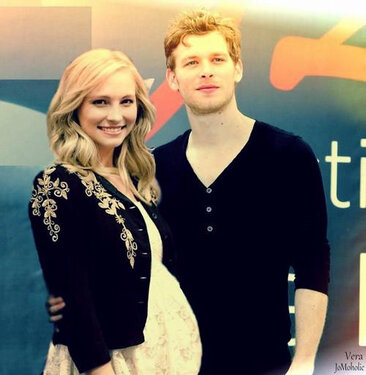 Klaus & Caroline wallpaper probably containing a leisure wear, an outerwear, and a well dressed person called Jodice manip