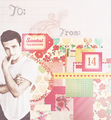 Josh Hutcherson Valentine cards - josh-hutcherson fan art