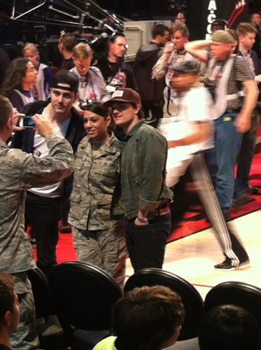 Josh at The All-Star Celebrity Game 2013