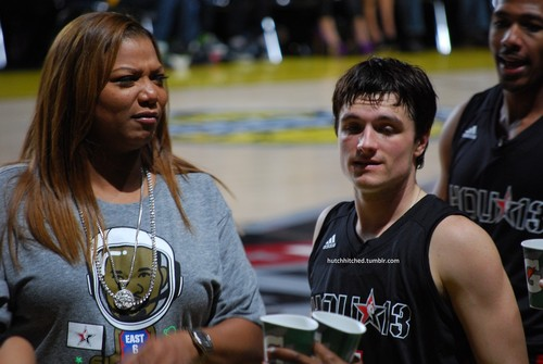 Josh & Queen Latifah
