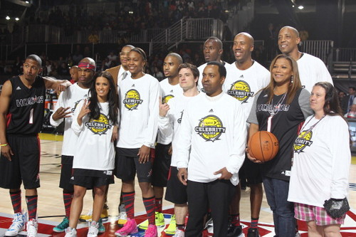 Josh @ the NBA all-star celebrity game