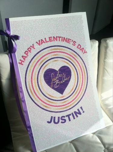 Justin Bieber Valentine's Day, 2013