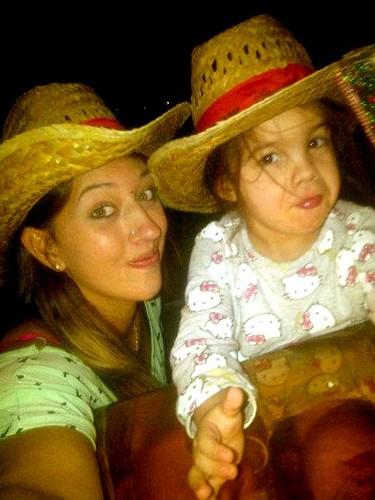 Katie Tevez and Deborah Tevez