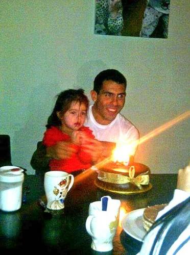 Katie Tevez Carlos Tevez daughter